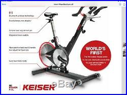 Keiser m3i Indoor Cycling Bike, Bluetooth Wireless Technolgoy, Spin Bike