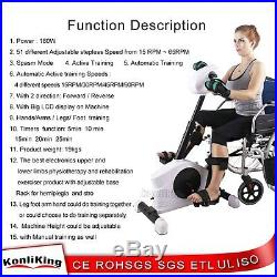 Konliking 180W Electronic Physical Therapy & Rehab Bike Pedal Motorized Trainer