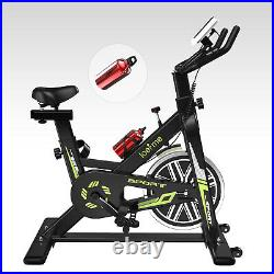Loefme Home Exercise Bike Stationary Cycling Bicycle Cardio Fitness Workout