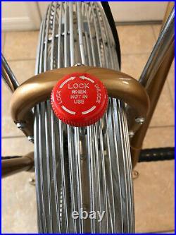 MINT Vintage Gold Schwinn AirDyne Exercise Bike withErgometer MFG in Chicago USA