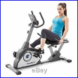 Marcy NS-40502R Recumbent Exercise Bike, Black