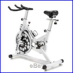 Marcy XJ-5801 Club Revolution Exercise Bike Trainer, White/Black (Open Box)