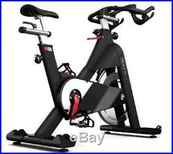 Matrix Spin Bike Livestrong E-Series Carbon Blue Cardio Equipment Indoor Cycling