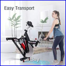 Merax Fitness Stationary Exercise Bike Indoor Cycling Bike Home Cardio Workout