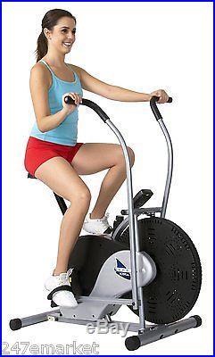 NEW! Body Rider Fan Bike Stationary Upright Body Cardio Fitness Training