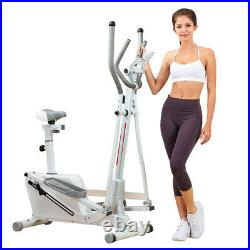 NEW Elliptical Bike Cross Trainer Exercise Fitness Workout Gym Cardio Machine US