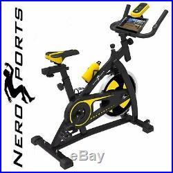 Nero Sports Exercise Bike Studio Cycle Indoor Training 12kg Spinning flywheel
