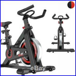PRO Indoor Exercise Bike Cardio Cycling Fitness Studio Workout Bike with Seat US