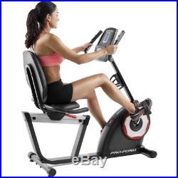 PROFORM 235 CSX RECUMBENT EXERCISE BIKE With 18 WORKOUT PROGRAMS PFEX52715