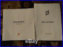 Peloton Exercise Bike PRISTINE CONDITION 74 total rides Gen 3