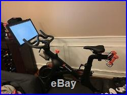 Peloton Exercise Bike with Weights