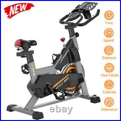 Pooboo Stationary Exercise Bike Belt Drive Indoor Cycling Cardio Workout Bike