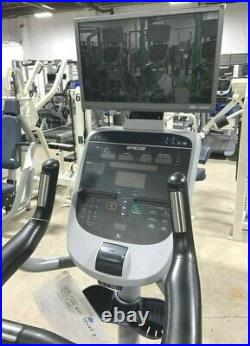 Precor UBK 835 Indoor Upright Exercise Cycle Gym Fitness Bike with TV Monitor