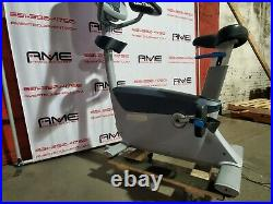 Precor UBK 885 Upright Bike Refurbished 30 Day Parts Warranty