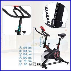 Pro Indoor Exercise Cycle Spinning Bike Fitness Cardio Digital Monitor +Flywheel