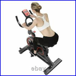 Pro Stationary Exercise Bike Bicycle Trainer Fitness Cardio Cycling Training NEW