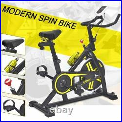 Pro Stationary Exercise Bike Cycling Bicycle Fitness Gym Cardio Workout Indoor