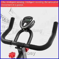 Pro Stationary Exercise Bike Trainer Fitness Cardio Cycling Bicycle Training Gym