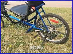 Quetzal Uss Recumbent Bike Bicycle (under Seat Steering) Ideal For Shorter Rider