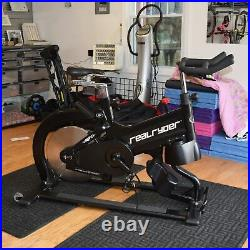 Realryder Abf8 Indoor Cycle Exercise Bike Articulating Bike Frame Real Rider