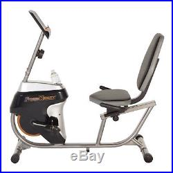 Recumbent Exercise Bike Cardio Fitness Bicycle Workout Stationary Indoor Home