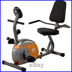 Recumbent Exercise Bike Home Gym Fitness Bicycle Magnetic Cardio Cycling Workout