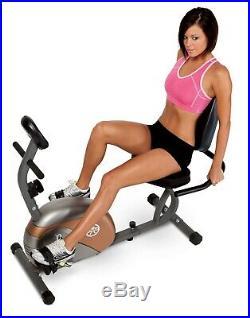Recumbent Exercise Bike Sport Center Gym Fitness Full body Outdoor Indoor New