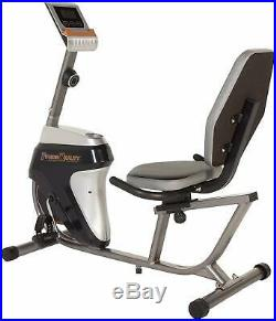 Recumbent Exercise Bike Stationary Cycle Ergonomic Magnetic Cardio Workout Quiet