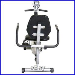 Recumbent Exercise Bike Stationary Fitness Gym Home Equipment Workout Trainer
