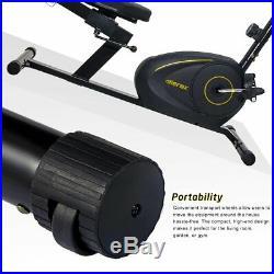 Recumbent Magnetic Cycle Indoor Cardio Fitness Exercise Bike Workout Bicycle