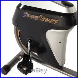 Recumbent Magnetic Tension Resistance Exercise Bike Workout Goal Setting LCD New