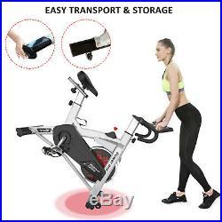 SNODE Indoor cycling bike, stationary bike with 40lbs flywheel, cardio home bike