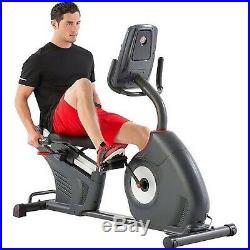 Schwinn 270 Recumbent Exercise Bike with RideSocial & Schwinn Trainer App, Black