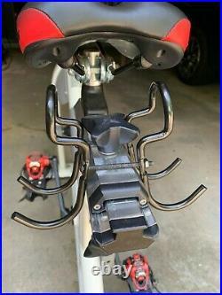 Schwinn A. C. Performance Carbon Blue Bike withMpower Echelon console