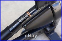 Schwinn A. C. Performance Plus Carbon Blue Belt Indoor Cycle in Black/Silver