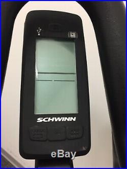 Schwinn A. C. Performance plus-Indoor Cycle Bike withCarbon Blue & MPower Echelon 2