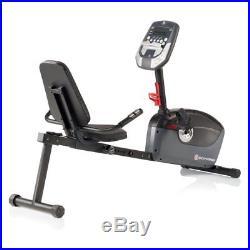 Schwinn A20 Recumbent Exercise Bike, Black