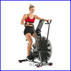 Schwinn Fitness Airdyne AD7 Home Workout Stationary Upright Cardio Exercise Bike