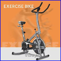 Self-Generated Stationary Exercise Bike Bicycle Cardio Workout Fitness Indoor