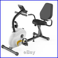 Serenelife Exercise Bicycle Stationary Recumbent Bike Cardio Workout Fitness Gym