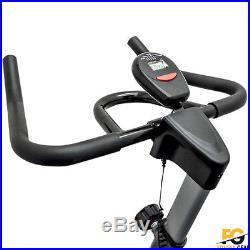 Spinning Exercise Machine Cardio Fitness Gym Bike Trainer Workout 13kg Flywheel