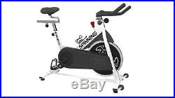 Spinning Spinner S1 Indoor Cycling Bike with Four Spinning DVDs White
