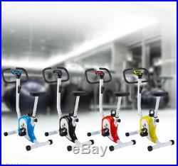 Stable Upright Bike Durable Exercise Bicycle Trainer Bike Cardio Aerobic Equipme