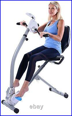 Stamina Seated Exercise Bike Upper Body Cycle Exerciser 15-0301 NEW