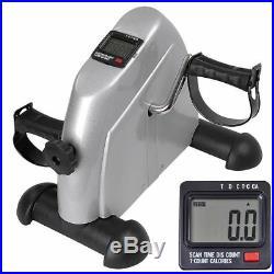Stationary Bike Pedal Exercise Machine Fitness Digital Exerciser Leg Arm Gym