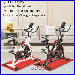 Stationary Exercise Bicycle Cardio Cycling Workout Fitness Indoor Sport Home Gym