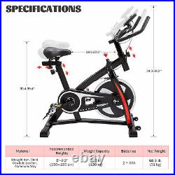 Stationary Exercise Bike Bicycle Trainer Fitness Cardio Cycling Training Gym