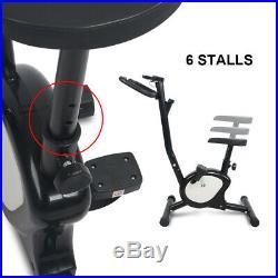 Stationary Exercise Bike Cycling Adjustable Resistance Bicycle Cardio Training