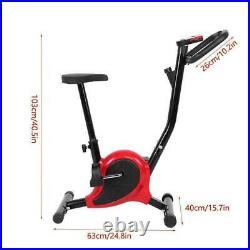 Stationary Exercise Bike Cycling Adjustable Seat Bicycle Cardio Training Indoor