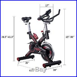 Stationary Exercise Bike Indoor Workout Upright Gym Cycling with Screen